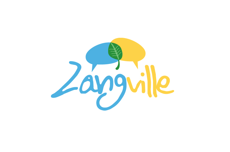 Brand Identity for Zangville – An online community for the health enthusiast